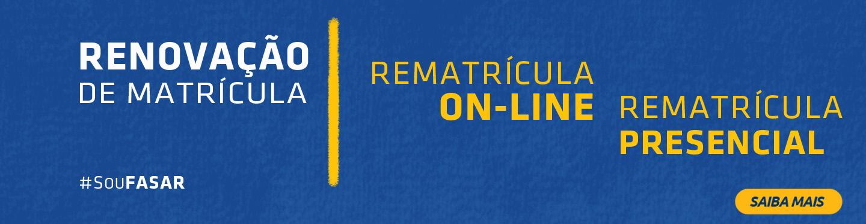 Banner Rematricula 2018-2
