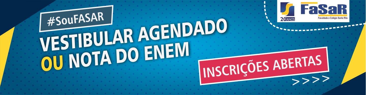 Banner Vestibular Agendado 2018-1