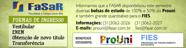 Banner Formas de Ingresso Bolsas Prouni FIES
