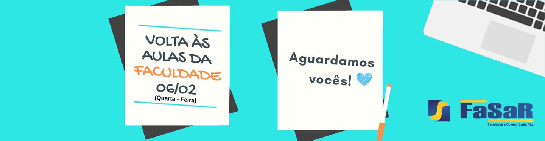 Banner Volta as Aulas 2019
