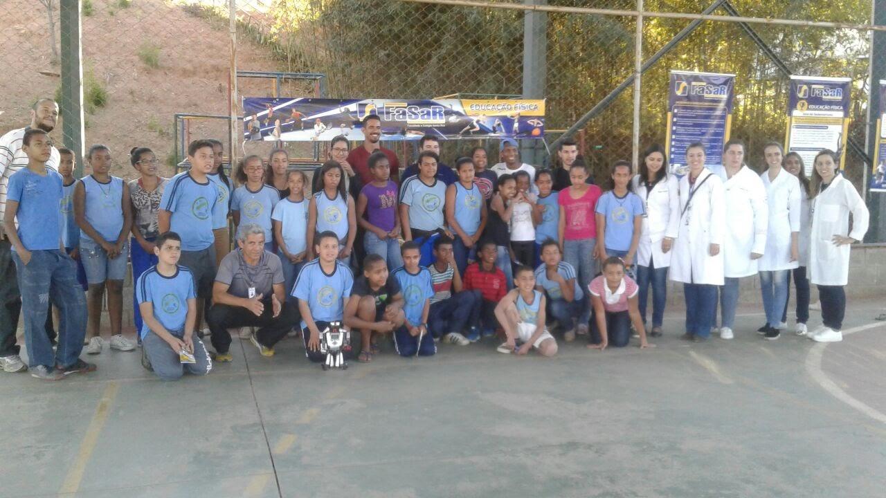 Ação Social - FASAR: CONSTRUINDO UMA SOCIEDADE MELHOR - Roda Moinho