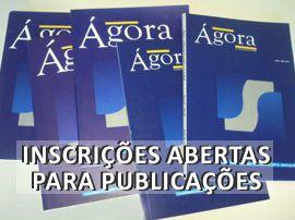 Revista Ágora: inscrições abertas para publicações