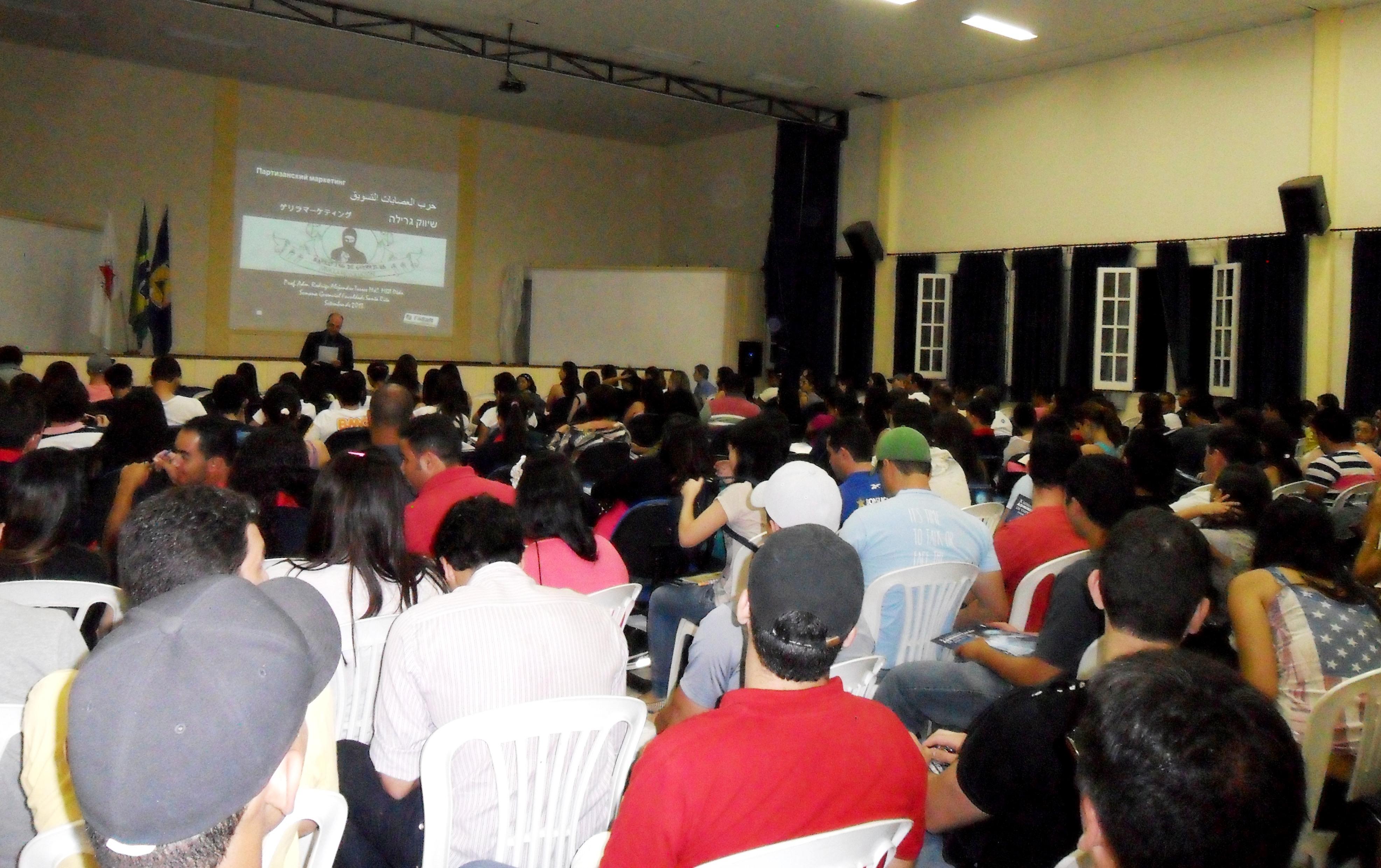 FaSaR realiza X Semana Acadêmica de Administração de Empresas
