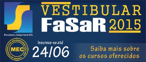 Vestibular FaSaR 2015/2: Saiba mais sobre os cursos oferecidos