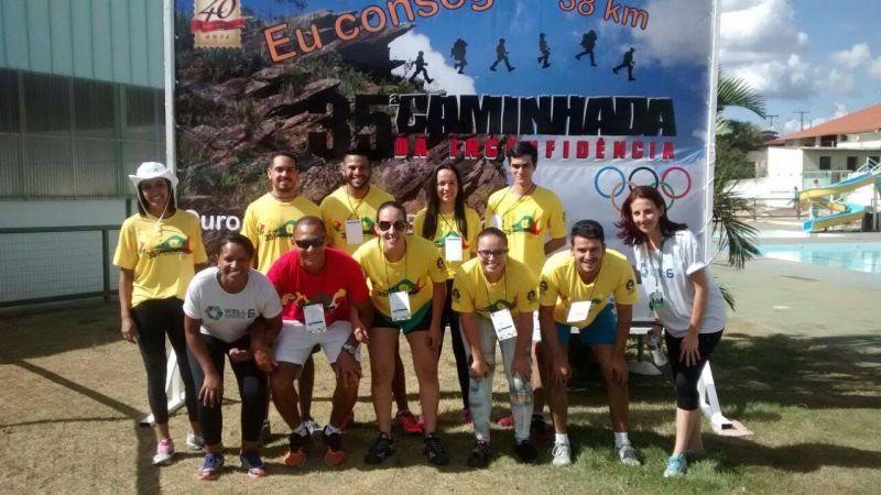 FASAR participa da 35ª Caminhada da Inconfidência