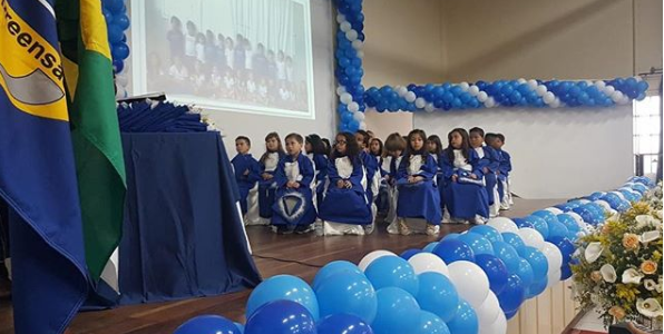 Formatura 2º Período Educação Infantil – 2018